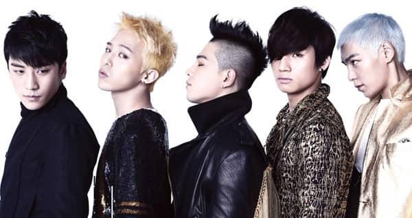 Big Bang. music.  TOP. happy.