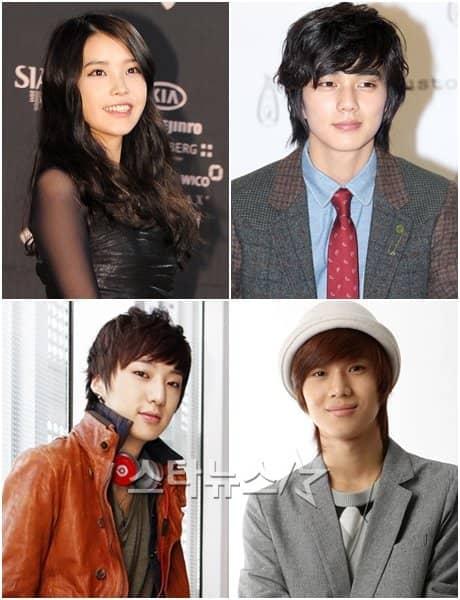 IU, Ю Сын Хо, Кан Сын Юн и Тхэмин из SHINee не будут поступать в ...