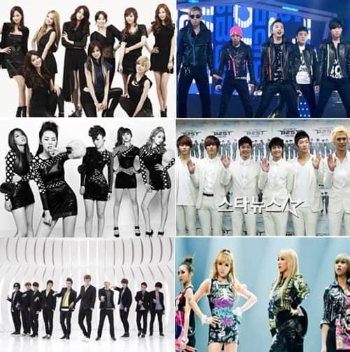 Что готовят SM, YG, JYP и Cube на 2012 год?