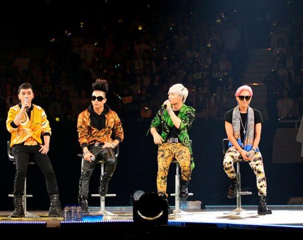 Японская встреча с фанатами Big Bang привлекла 42 000 человек.