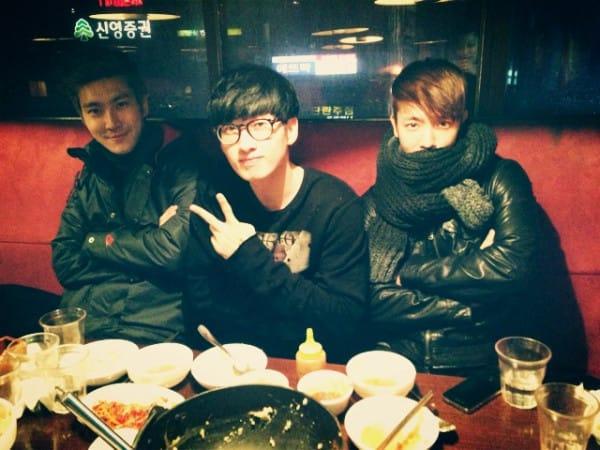 Ынхек, Донхэ и Шивон ужинают вместе. | YesAsia! Новости: K-POP, J ...