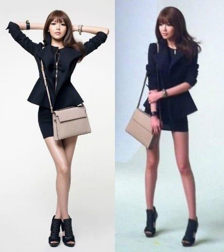 первом случае почему корейские девушки все такие стройные белье