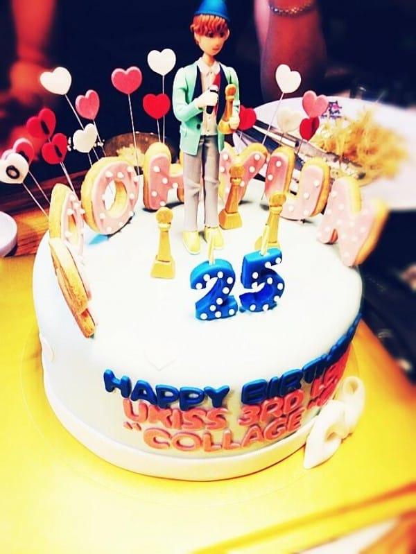 Торт с днем рождения 25 лет