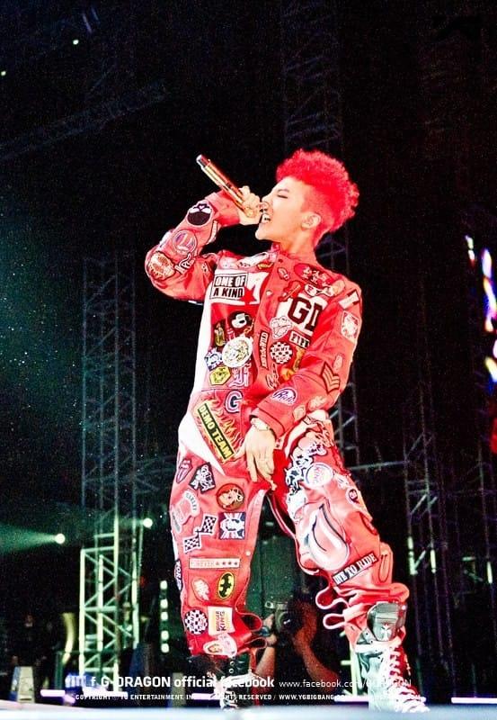 ФОТО]G-Dragon из Big Bang 2013 World Tour: ONE OF A KIND в