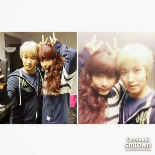 Super Junior's SungMin and RyeoWook