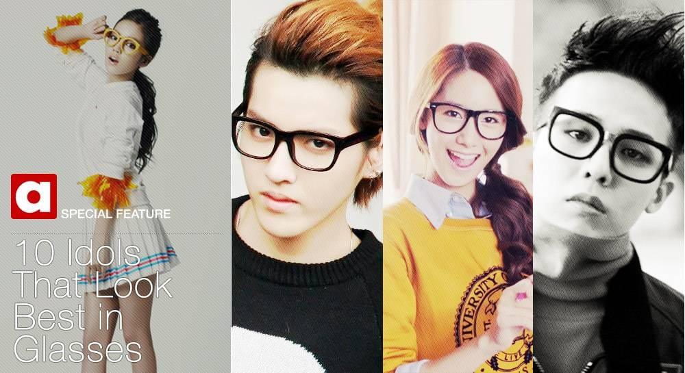 10 айдолов, которым идут очки | YesAsia! Новости: K-POP, J-POP и C ...