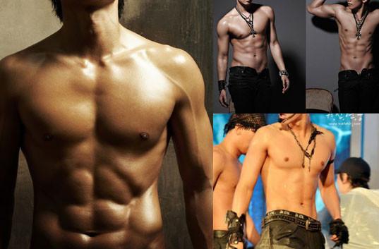 Видео красивая мускулистая атлетичная