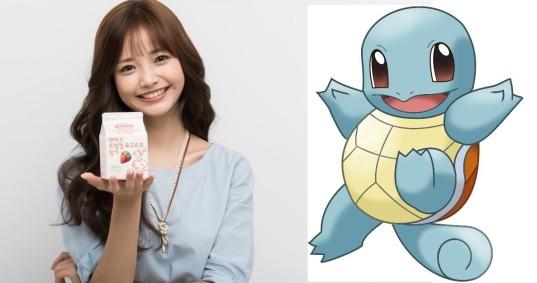 1_Ha Yeon Soo & Squirtle