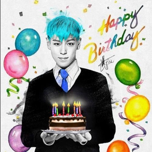Корейская открытка к дню рождения, открытки открытка
