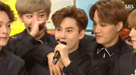 exo-inkigayo-call-me-baby-first-win