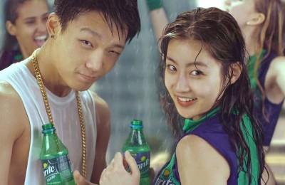 iKON-Bobby-and-Kang-Sora-Sprite-2015