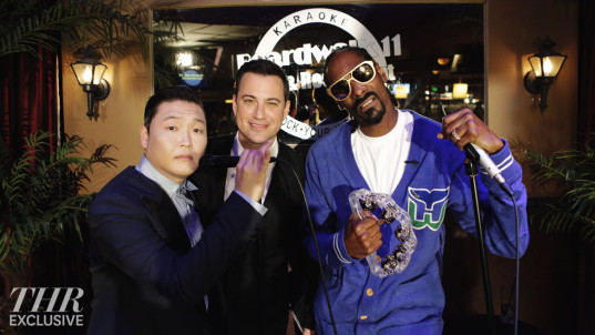 PSY, JIMMY KIMMEL, SNOOP DOGG