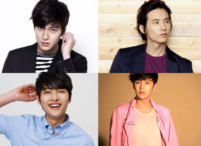 Lee Min Ho, Won Bin, Song Joong Ki and Jang Geun Suk Named To Charity Honors Club
