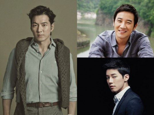 Song-Il-Gook-Uhm-Tae-Woong-Kim-Moo-Yeol-Male-Actors