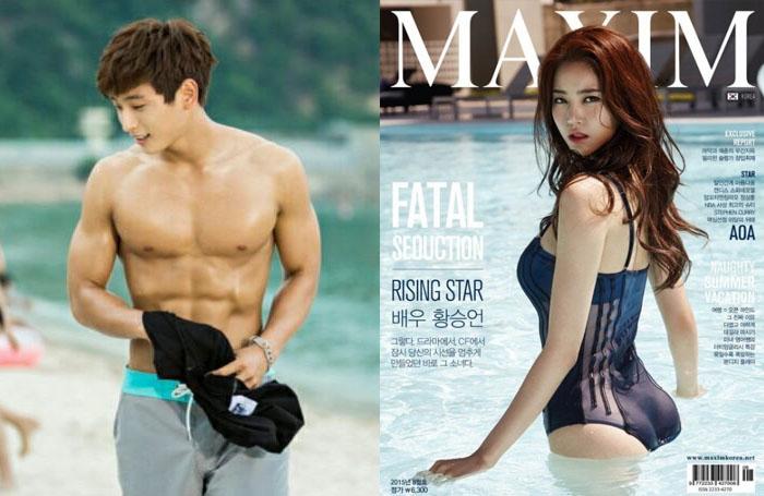 Jinwoon and Hwang Seung Un Madame Antoine