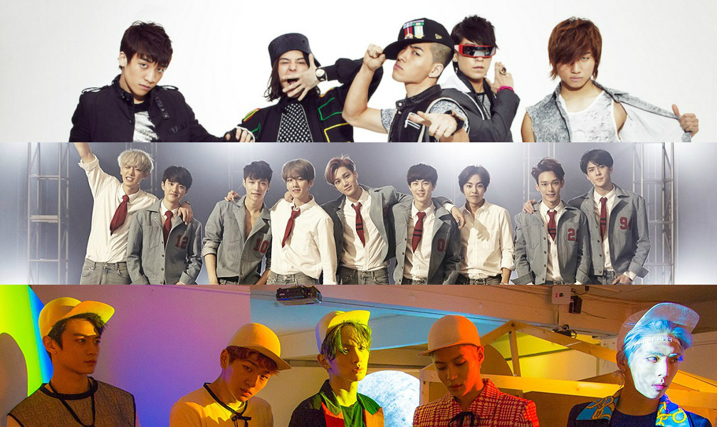 BIGBANG-EXO-Shinee