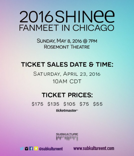 SHINee-Ticket-Sales