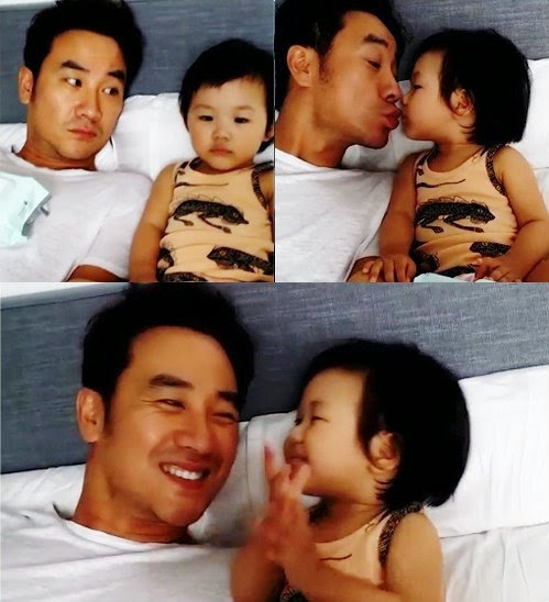 Uhm-Tae-Woong join return of superman new family cast