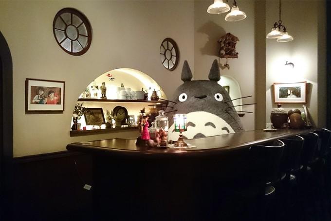 Воссоздание интерьера студии Гибли (© Studio Ghibli)