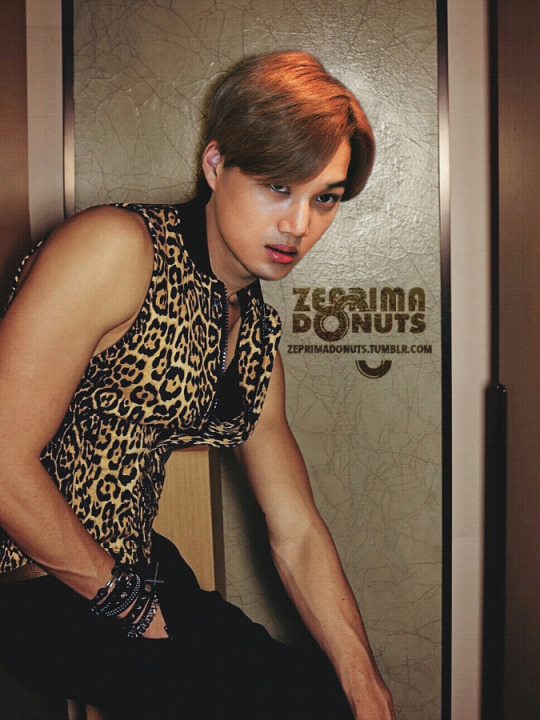 Kim Jongin for Zeprimadonuts Magazine