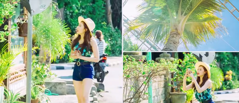 HyunA drops a surprise MV for Morning Glory allkpop