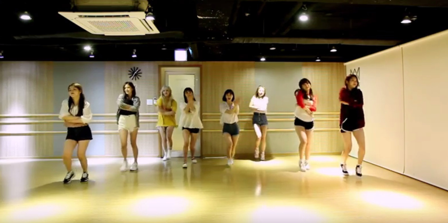 Oh My Girl reveal adorable video for A ing dance practice allkpop