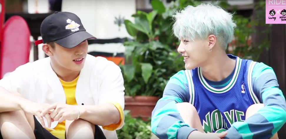 UNIQ s Seungyoun takes you behind the scenes of his Baby Ride MV set allkpop