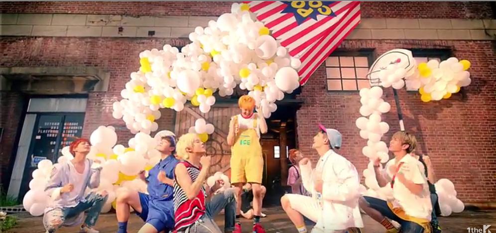 UP10TION pop in Tonight dance MV allkpop