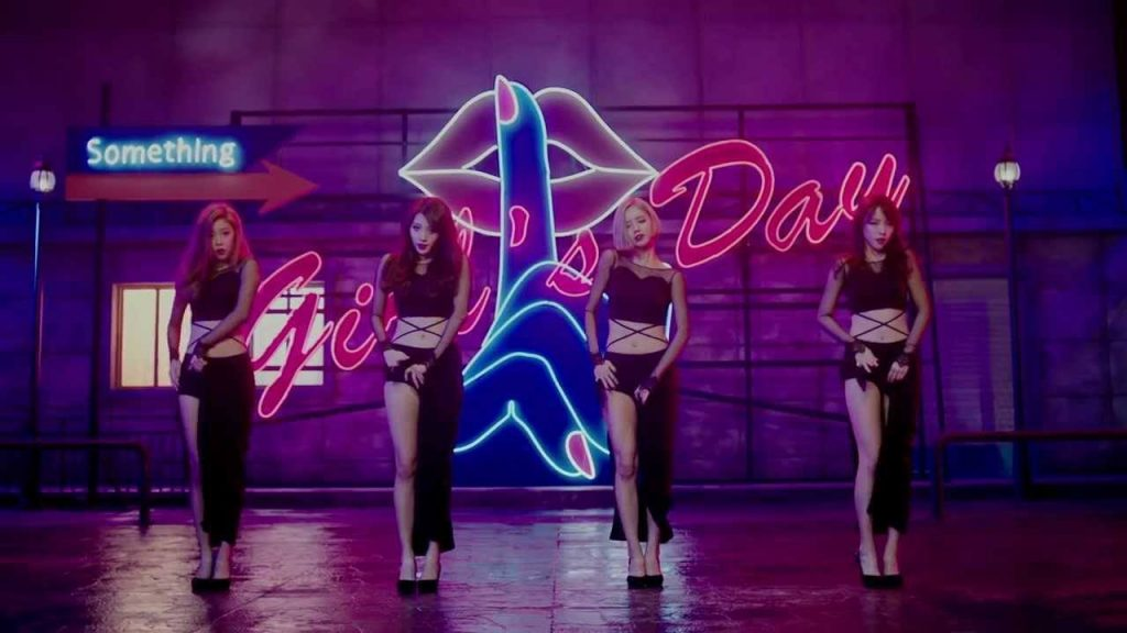 zwatch-girlsday-something-mv