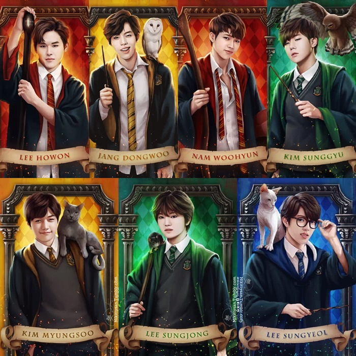 kpop-hogwarts-harry-potter-idols-infinite