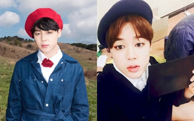 kpop-idols-beret-hats-2016-bts-jimin