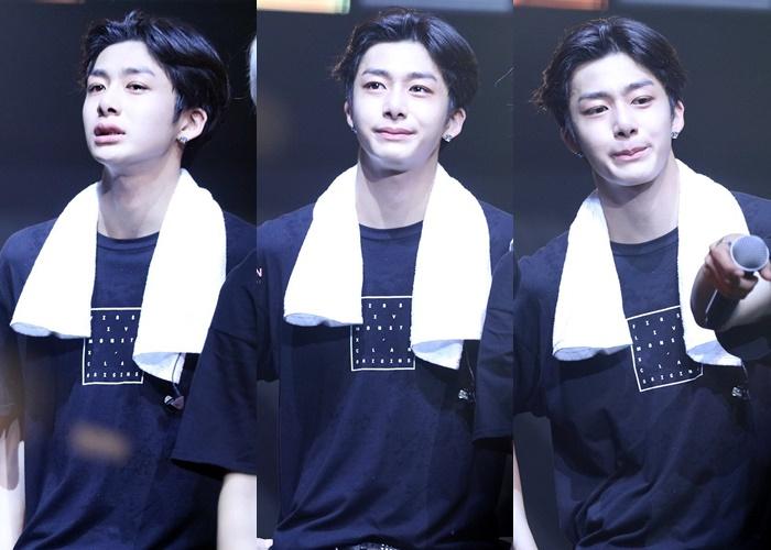 kpop-idols-crying-sad-monsta-x-hyungwon