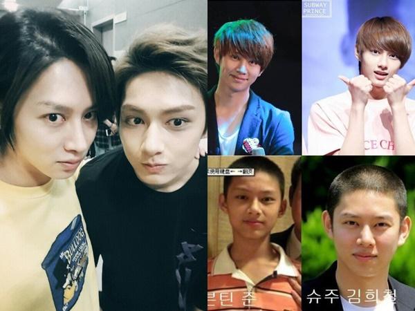 kpop-idols-who-look-alike-2016-super-junior-heechul-seventeen-jun