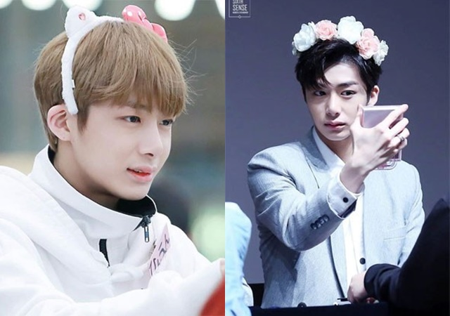 monsta-x-hyungwon-kpop-fairy-idols-2016