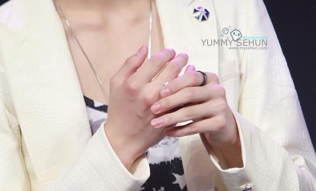 Ногти сехуна