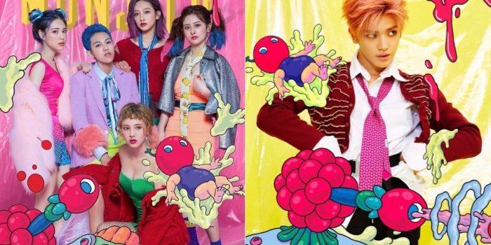 Вопиющий плагиат концепта группы «NCT 127» китайскими моделями