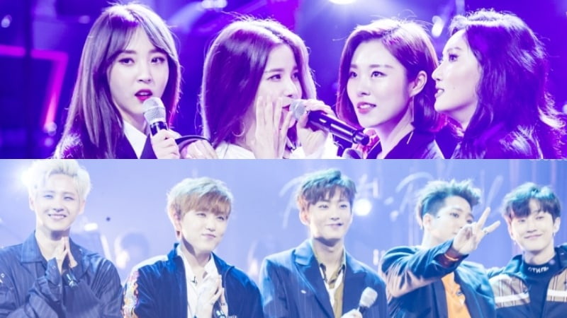 Участники B1A4 и MAMAMOO рассказали о поддержке внутри своих групп