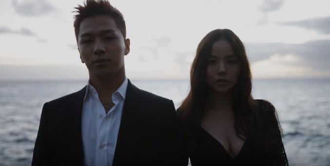 Тэян и Мин Хё Рин поделились драматическим видео их свадебной ...